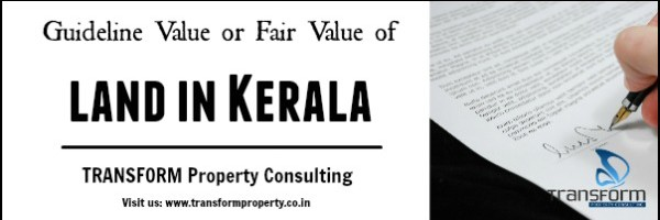 Guideline Value or Fair Value of Land in Kerala