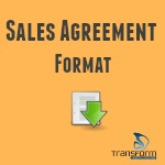 Sales Agreement Format