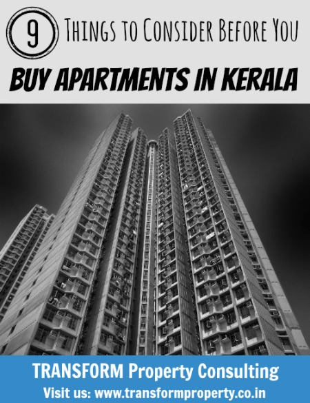 9 Things to Consider Before You Buy Apartments in Kerala