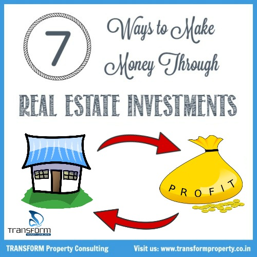 Ways to make money in real estate investing
