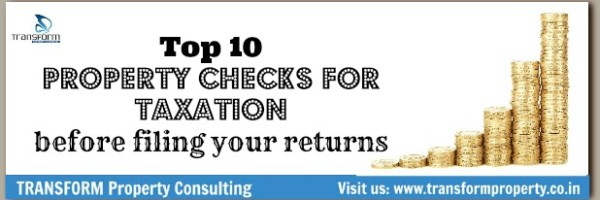 Property checks for taxation before filing your returns