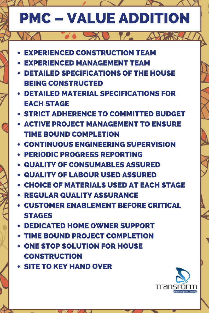 Transform Project management consulting - value add