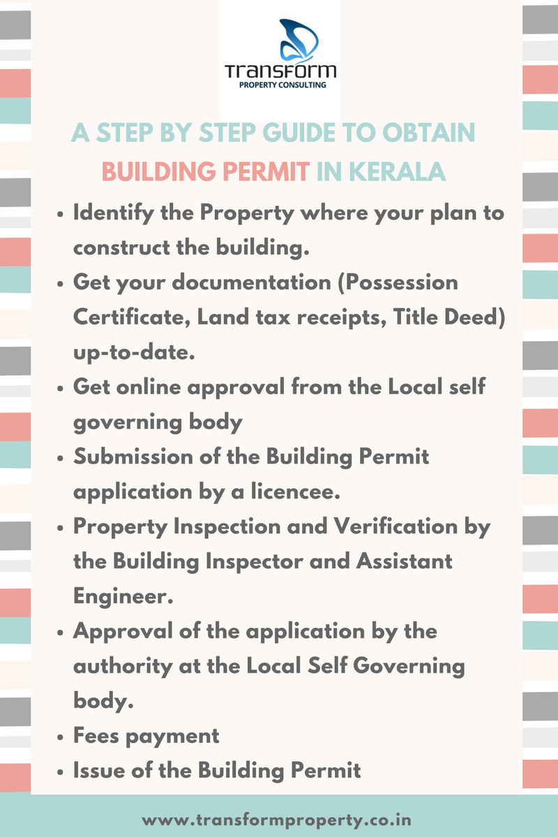 A Guide To Obtain Building Permit In Kerala Transform Property Consulting